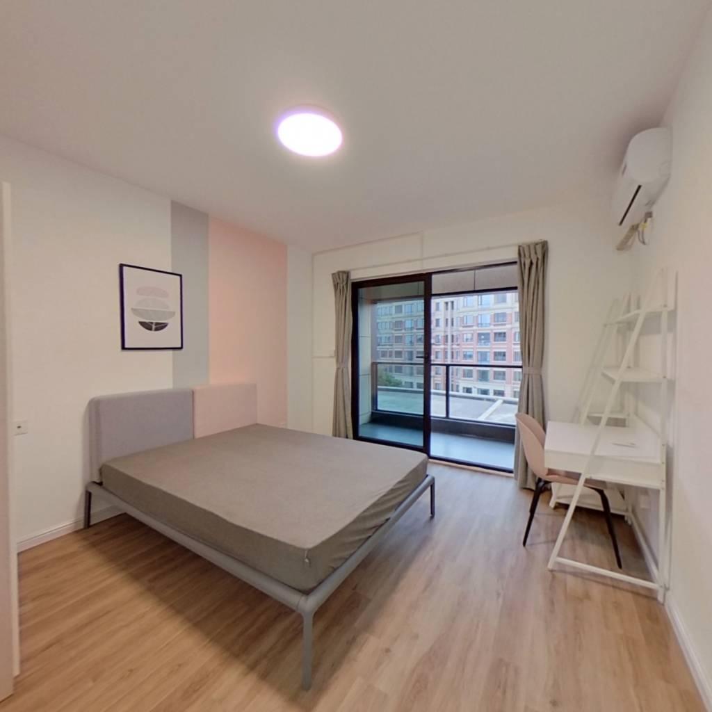 合租·香港兴业耦园 5室1厅 北卧室图