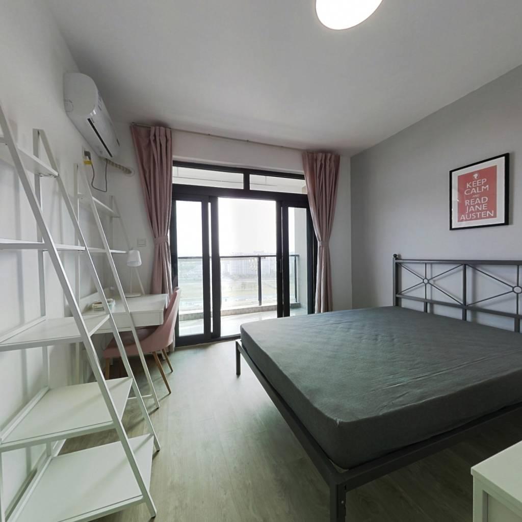 合租·欣景苑 4室1厅 南卧室图