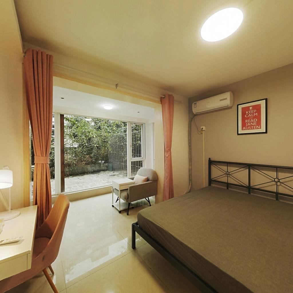 合租·利通出水芙蓉 4室1厅 北卧室图