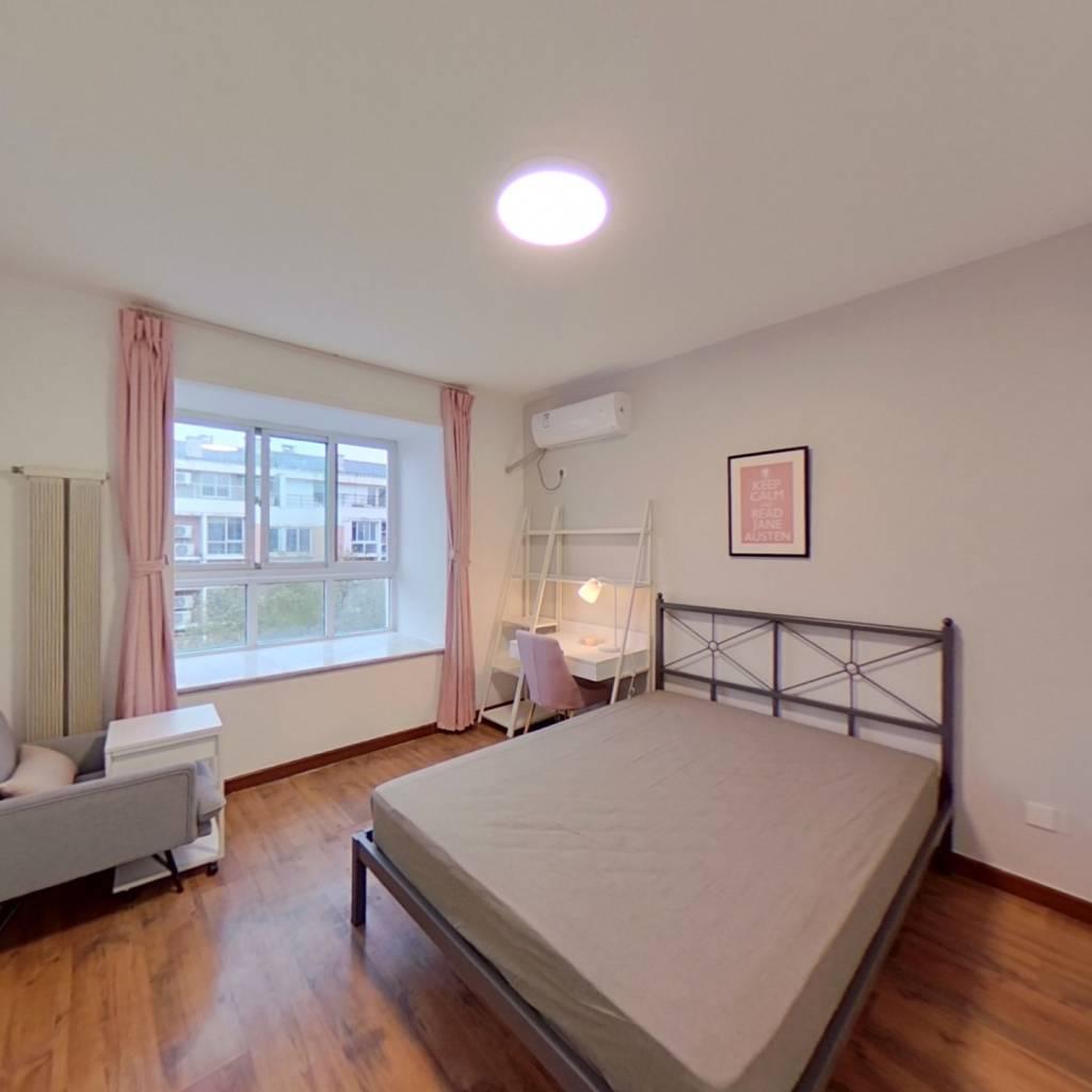 合租·北京人家 3室2厅 北卧室图
