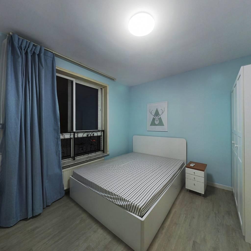 整租·北欧印象 2室1厅 西北卧室图