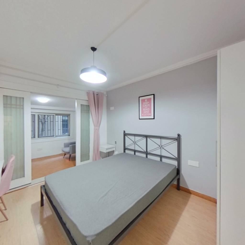合租·大王庙巷小区 3室1厅 南卧室图