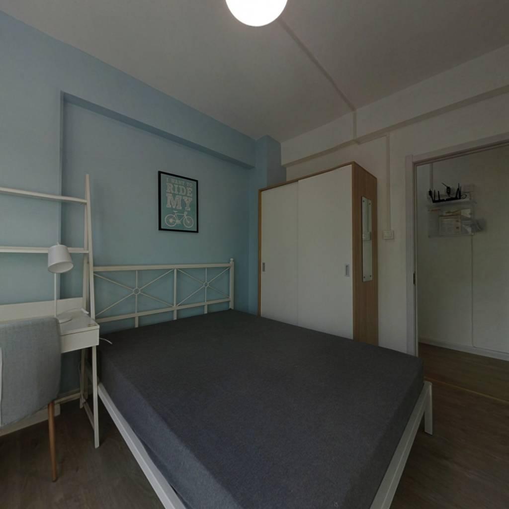 合租·德信君宸 4室1厅 南卧室图