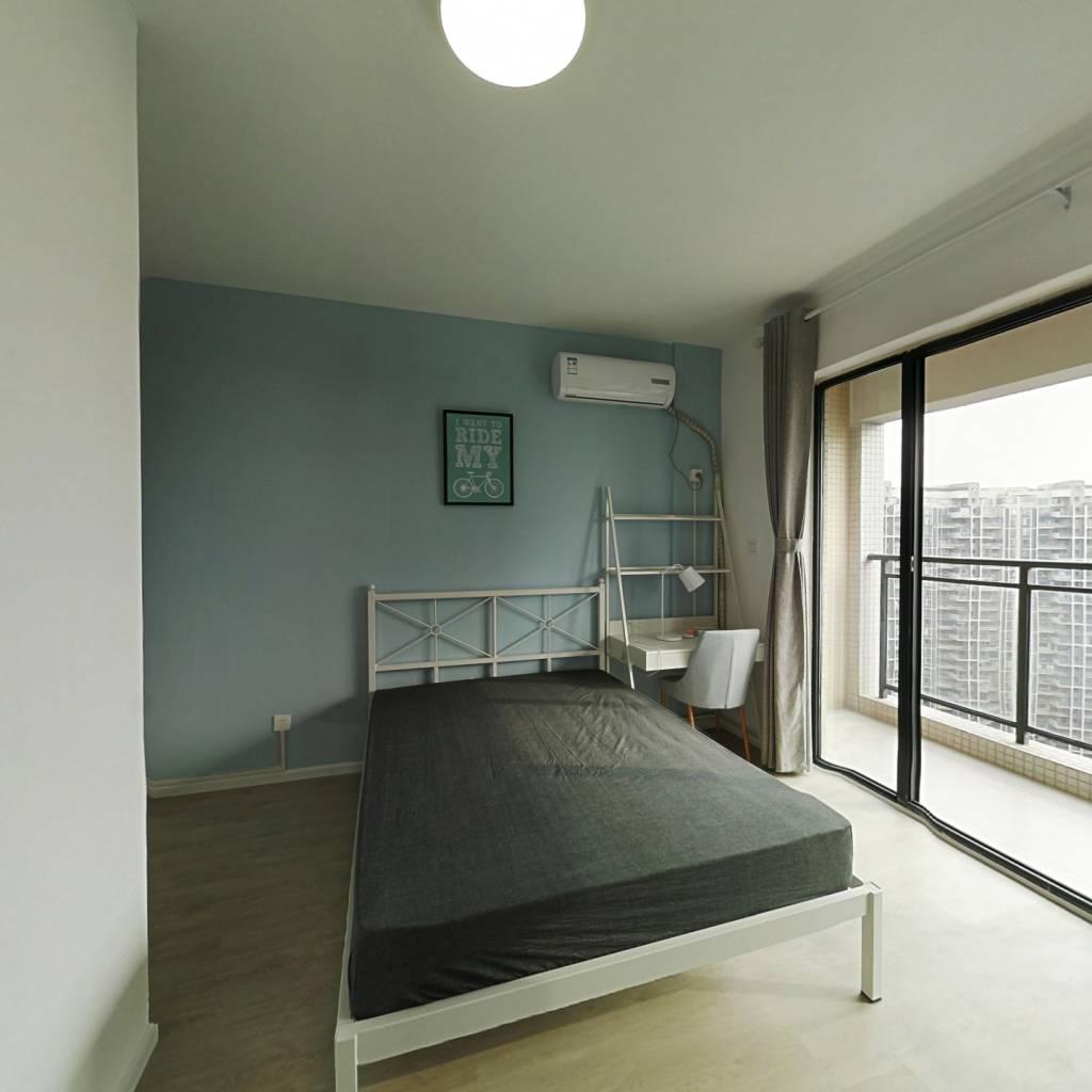 合租·顶峰水岸汇景 4室1厅 北卧室图