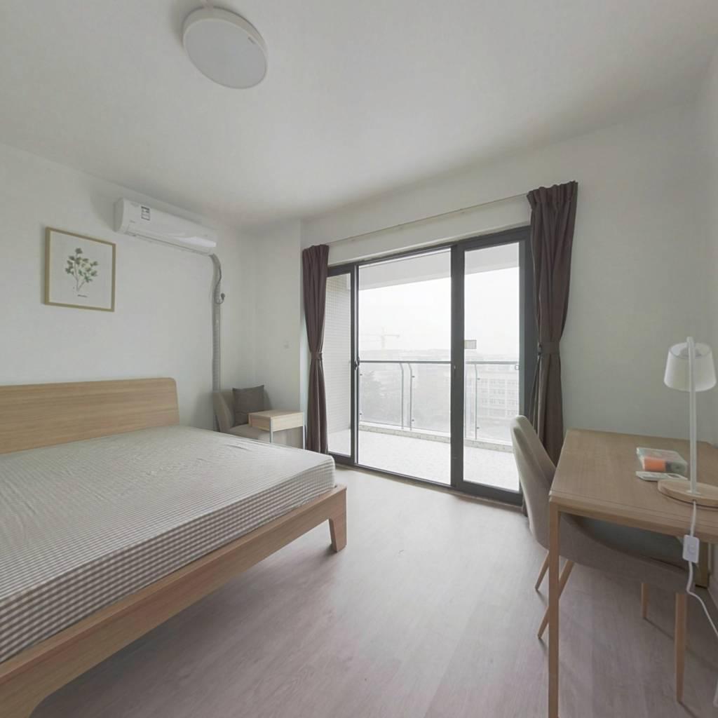 合租·九峰国际 4室1厅 西卧室图