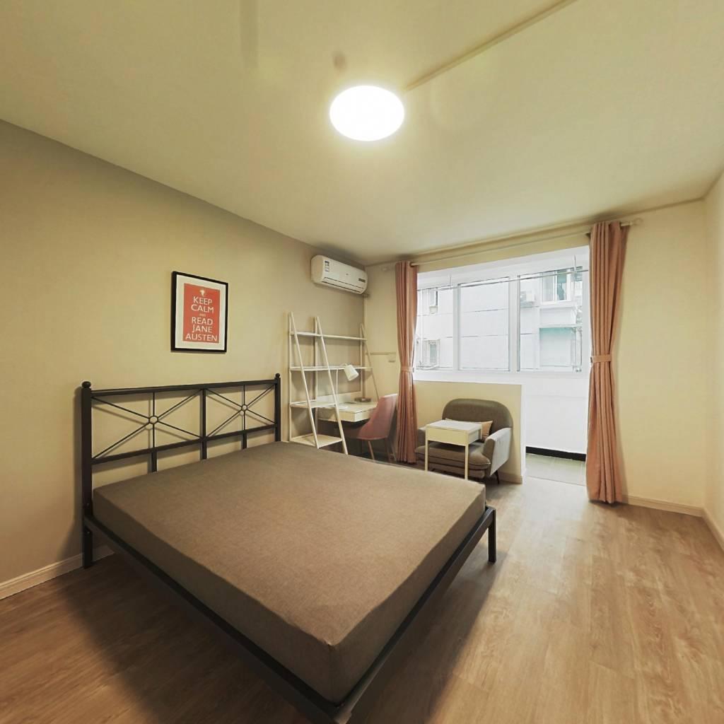 合租·上缝小区 2室1厅 南卧室图