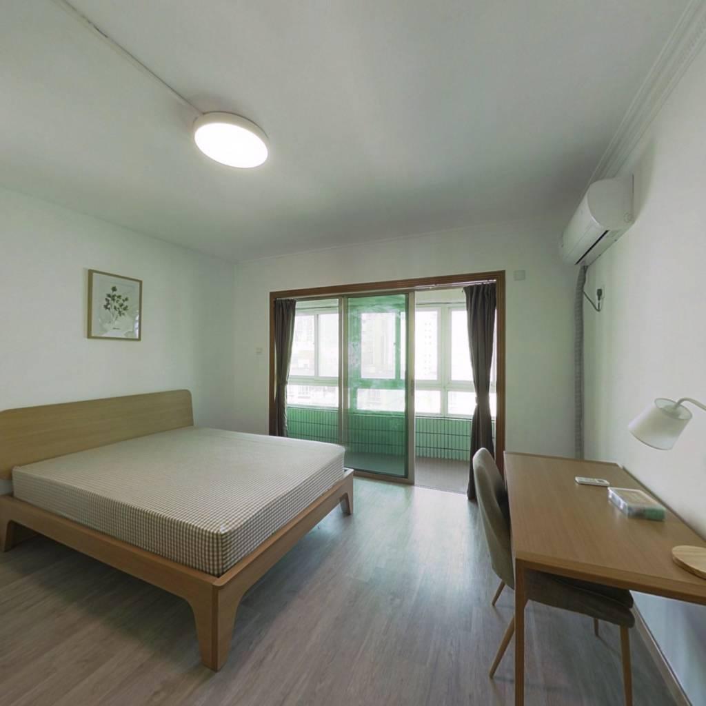 合租·锦隆花园 4室1厅 北卧室图