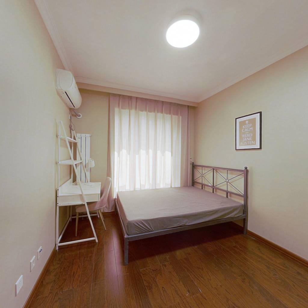 合租·意境兰庭 3室1厅 南卧室图
