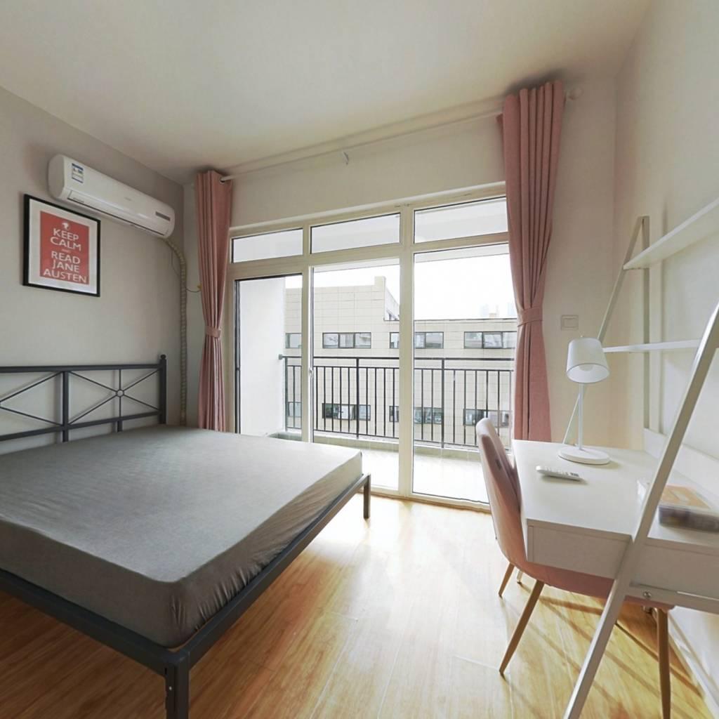 合租·军安卫士花园 3室1厅 西卧室图