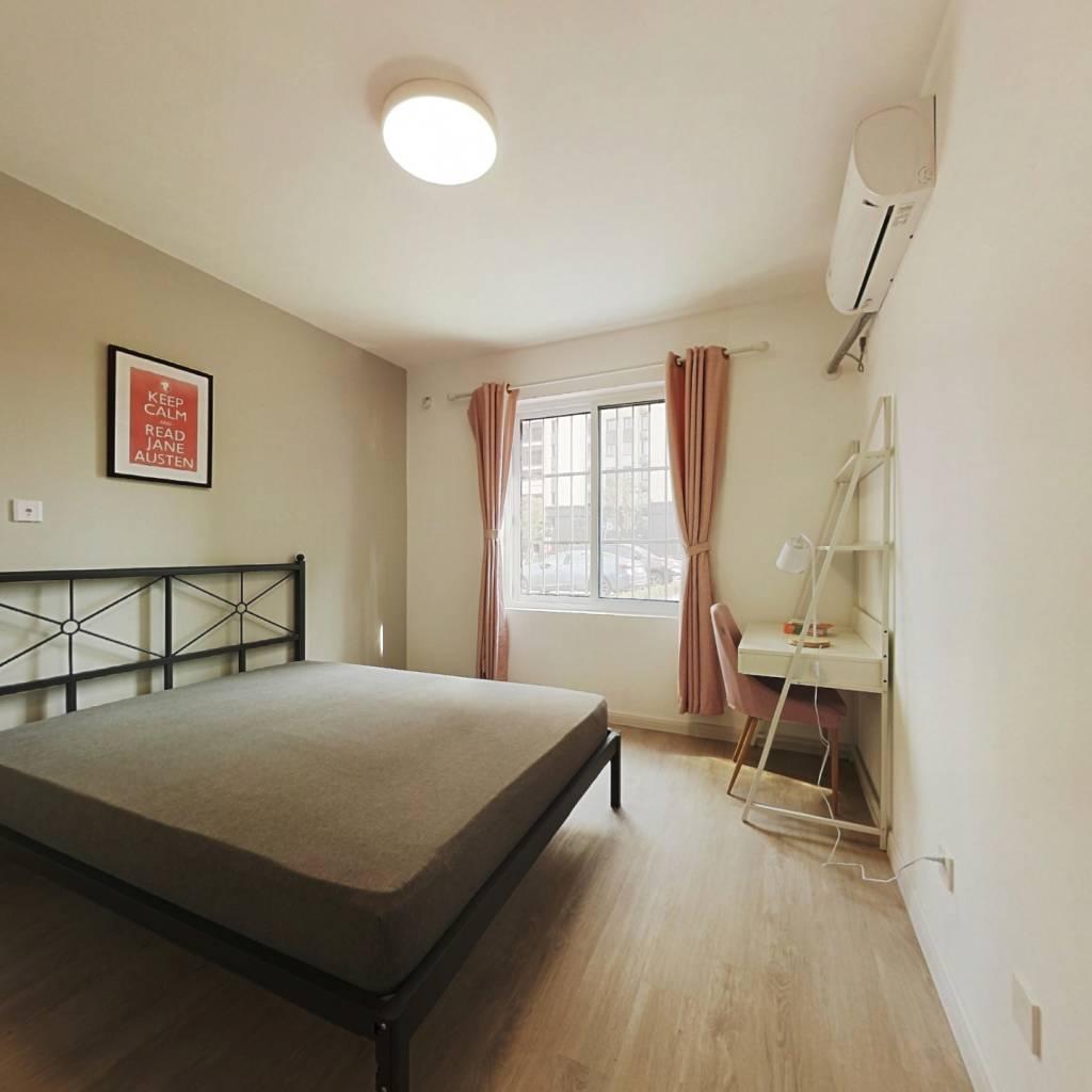 合租·金海华城华康佳苑 4室1厅 南卧室图