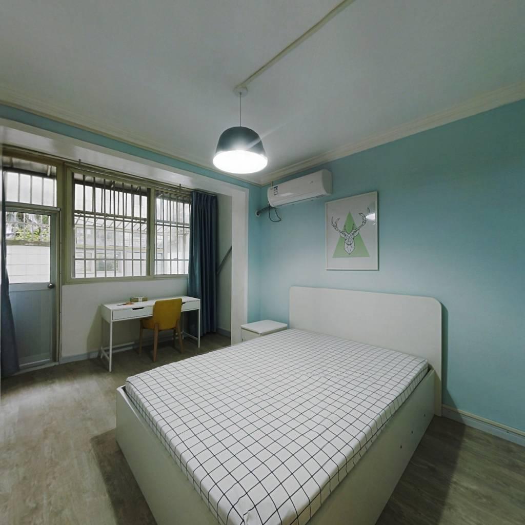 整租·梅园四街坊 1室1厅 南卧室图
