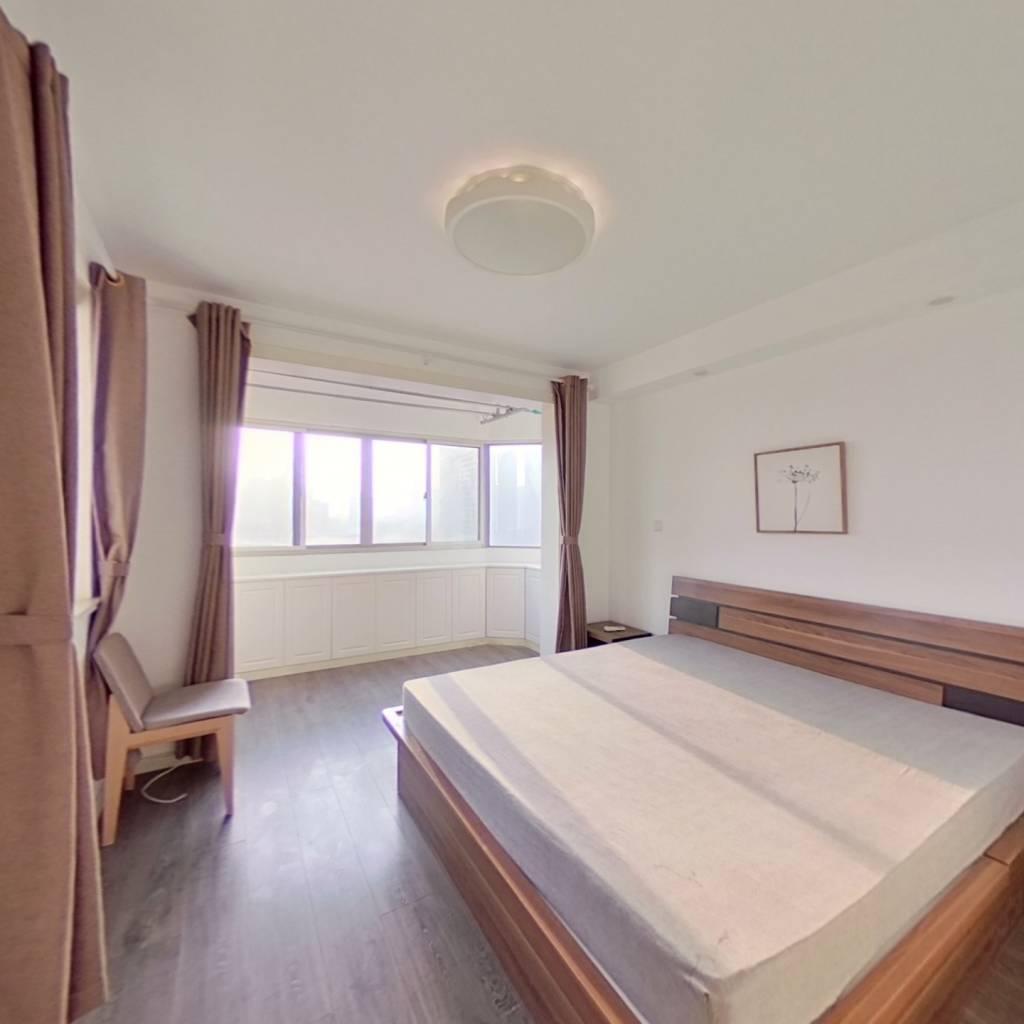 整租·崇业小区 2室1厅 西南卧室图