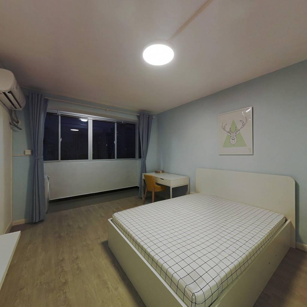 整租·市京一村 2室1厅 南卧室图
