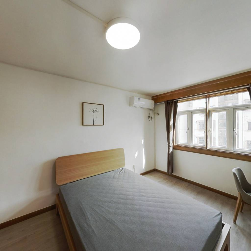 整租·海高二村 2室1厅 南卧室图