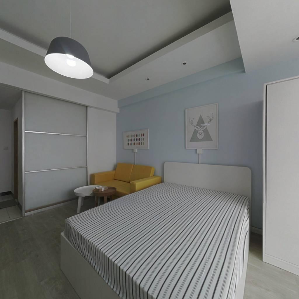 整租·丽晶国际 1室1厅 西南卧室图