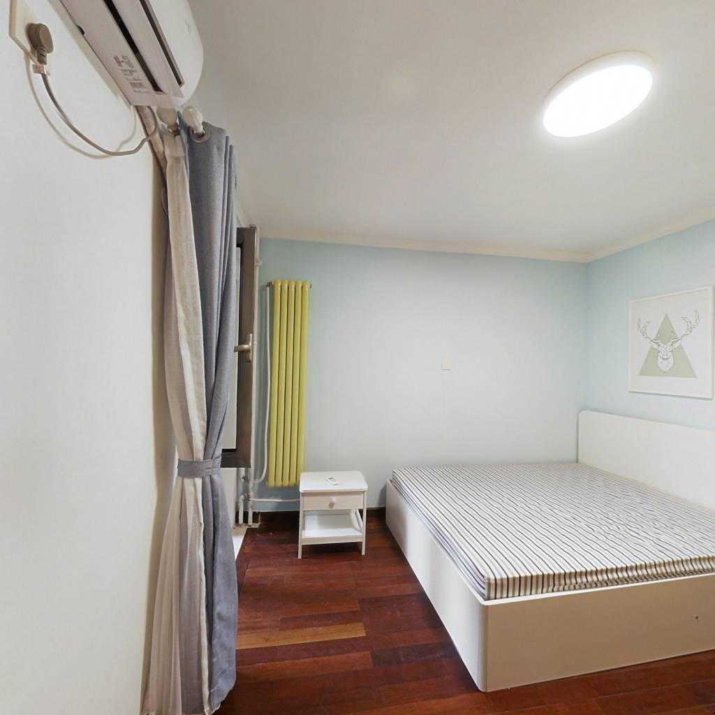 整租·方舟苑二期 2室1厅 西南卧室图