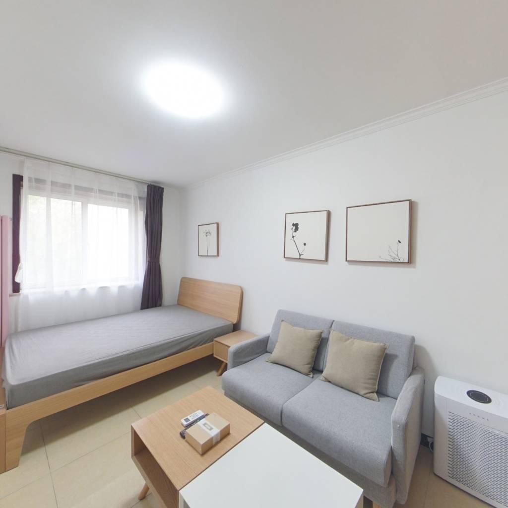整租·西罗园四区 2室1厅 南卧室图