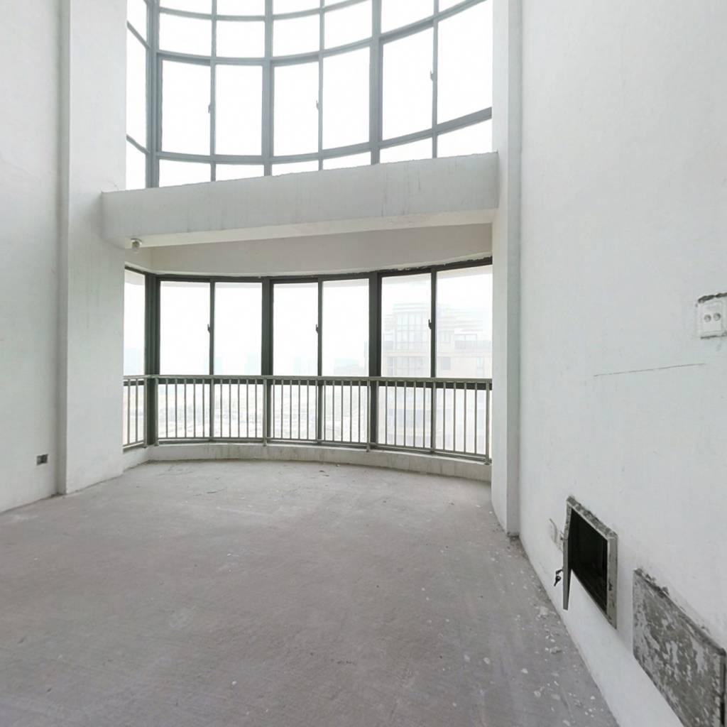 大自然华城公寓中空顶跃228平毛坯,看上好谈