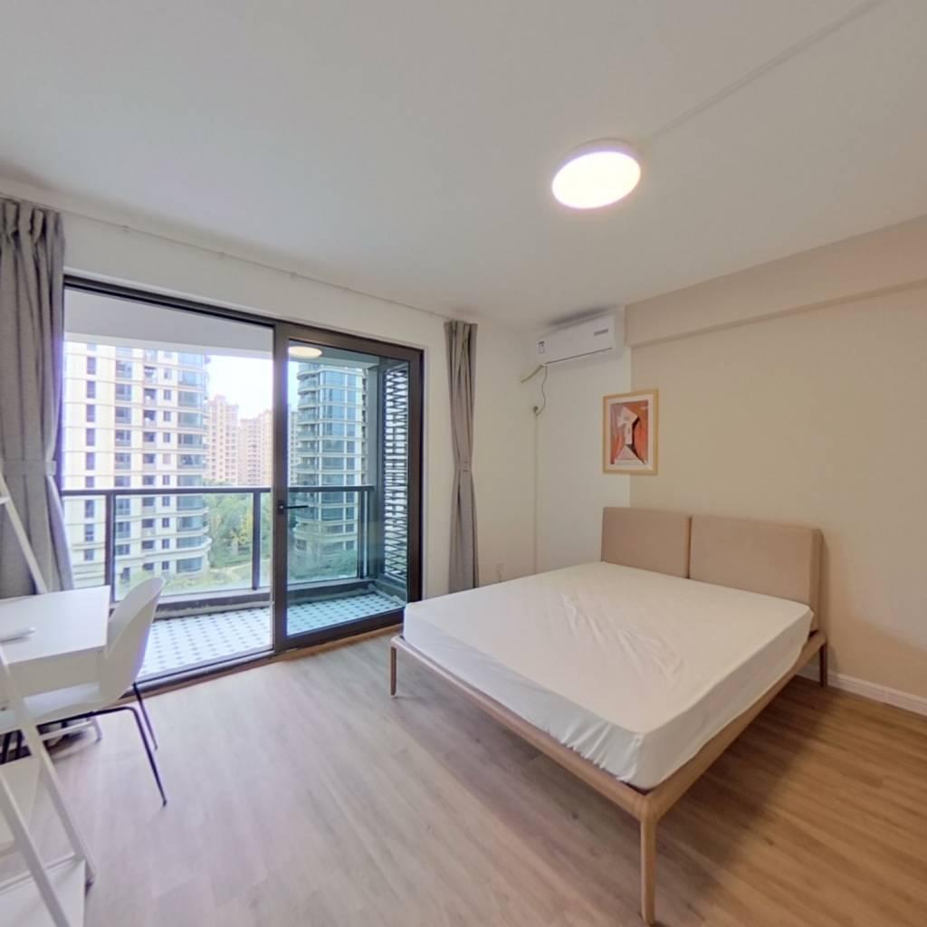 合租·海兴雅苑 5室1厅 南卧室图