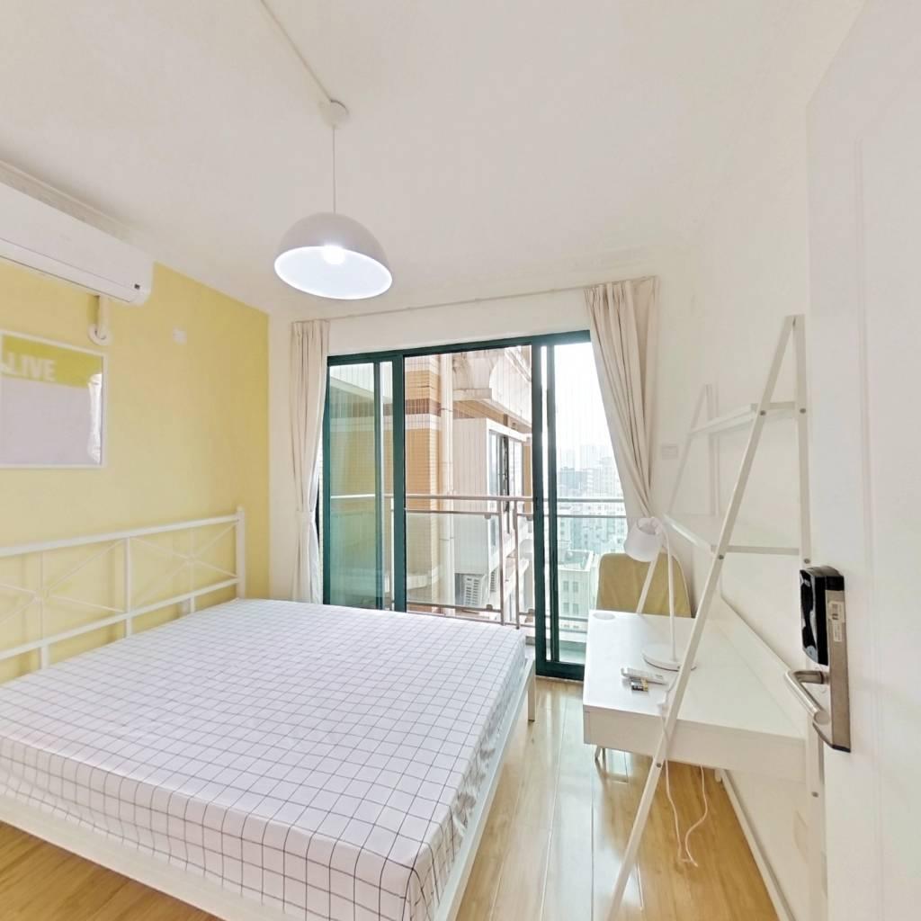 合租·金港华庭 3室1厅 南卧室图