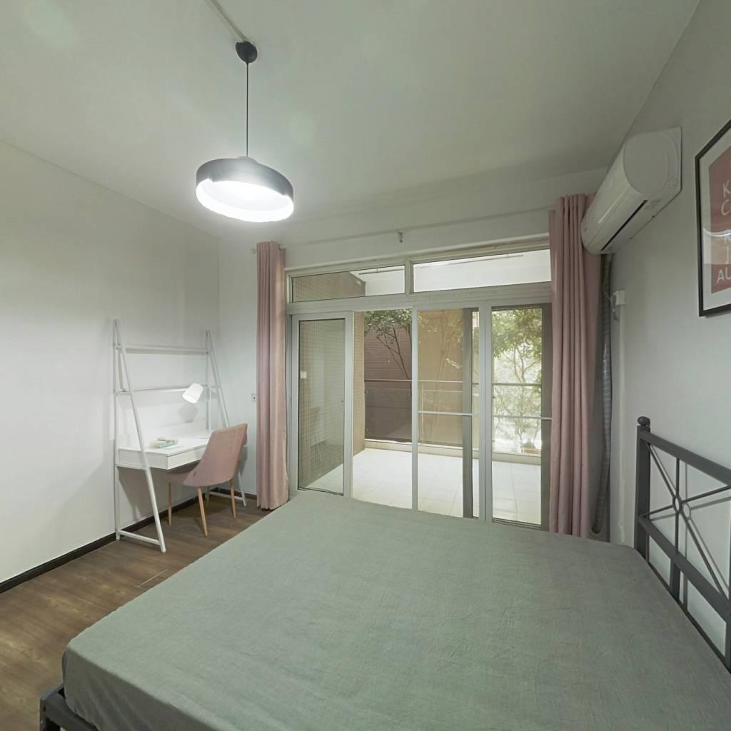 合租·瀚林花园 3室1厅 西卧室图