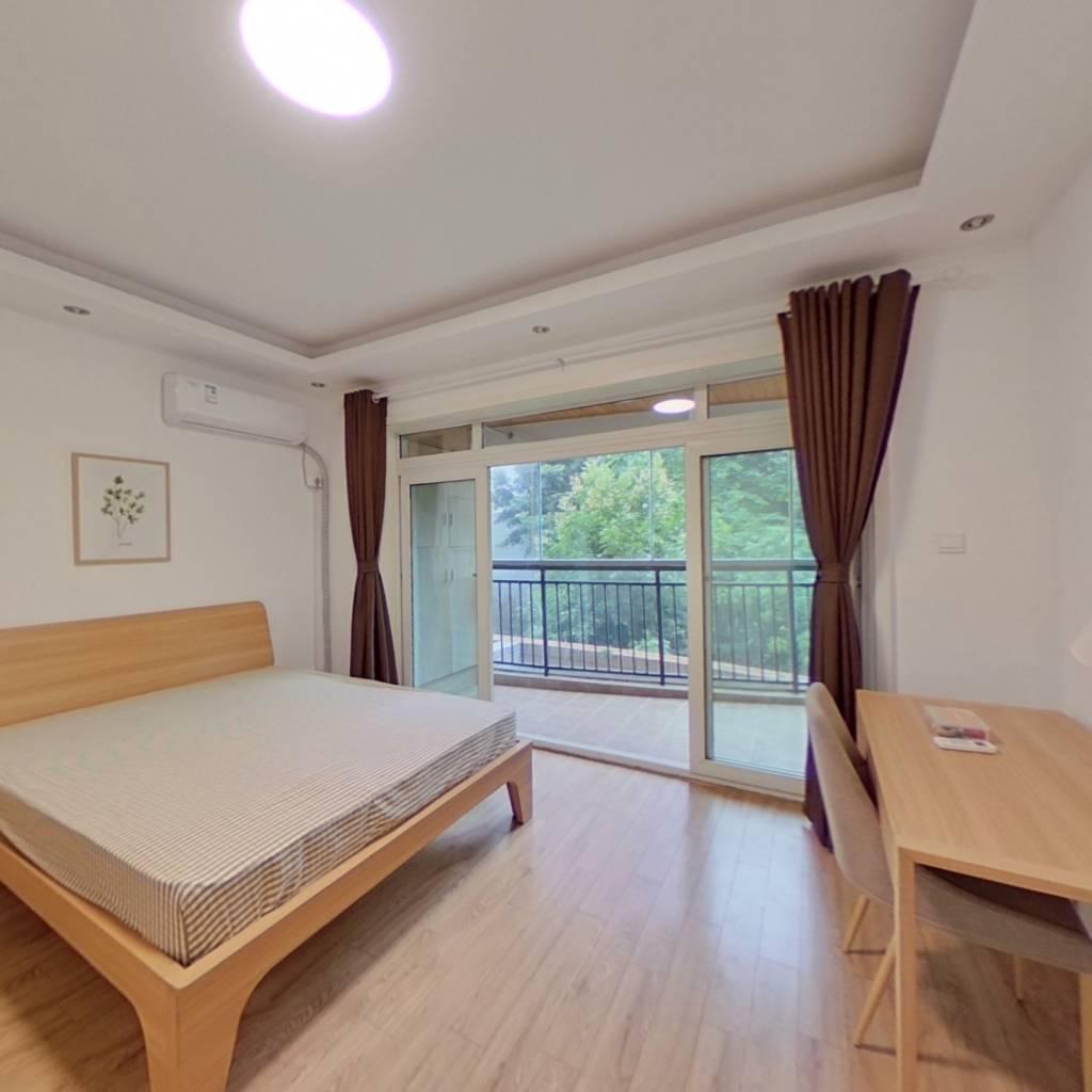 合租·千居朝阳 4室1厅 西北卧室图