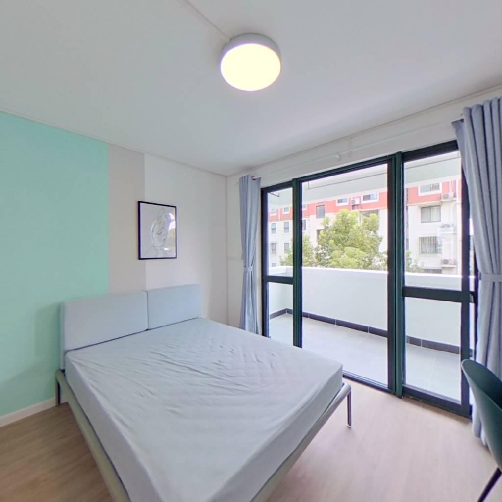 合租·万馨佳园 3室1厅 南卧室图