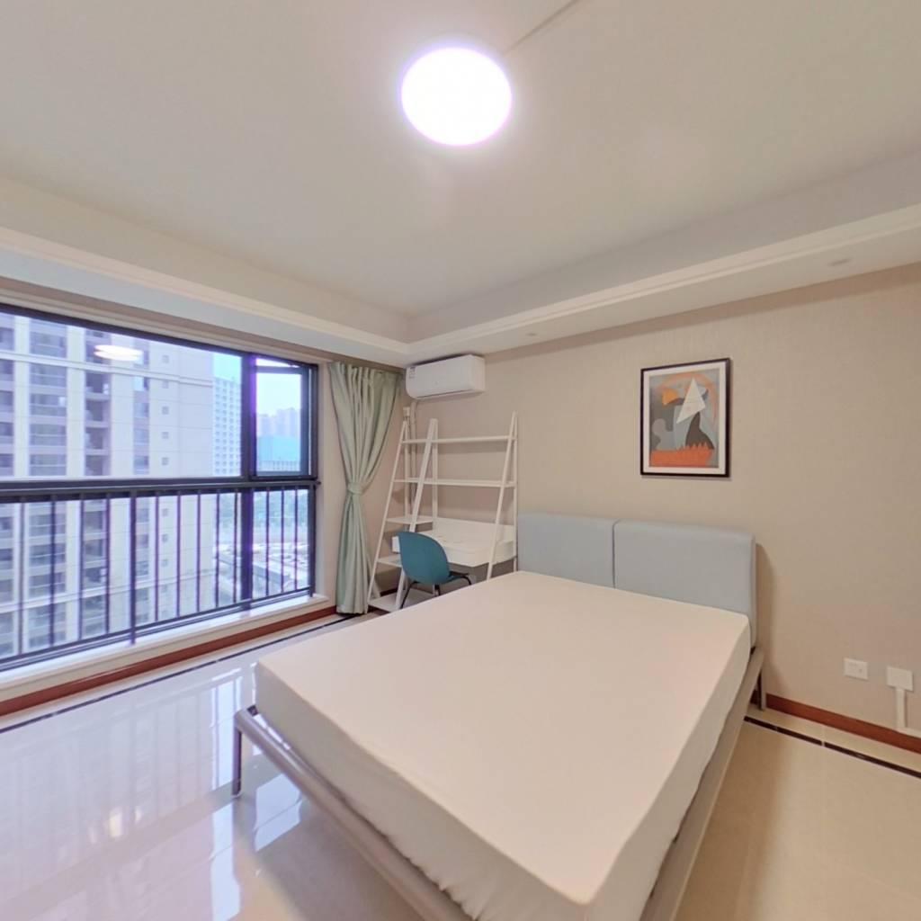 合租·滨江和城 4室1厅 东北卧室图