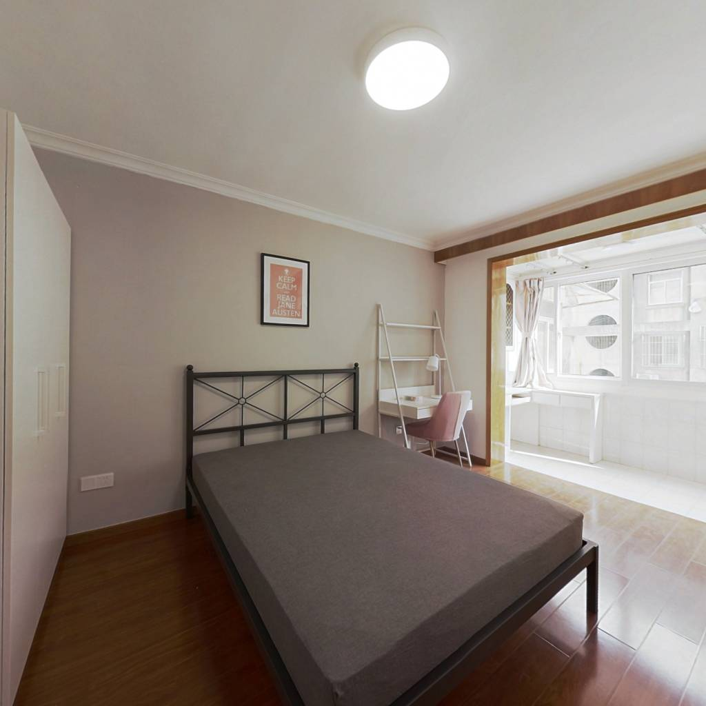 合租·裕德里小区 3室1厅 南卧室图
