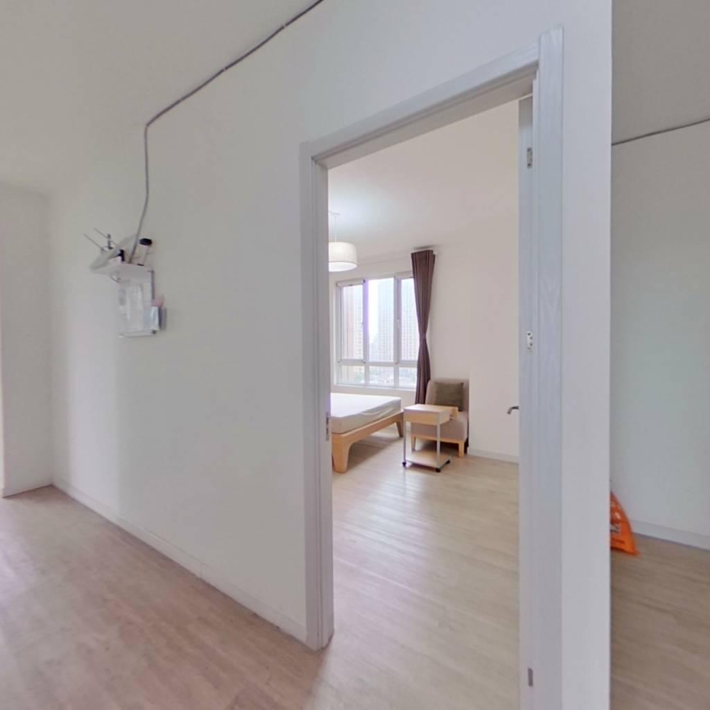 合租·百瑞景中央生活区二期东区 3室1厅 南卧室图