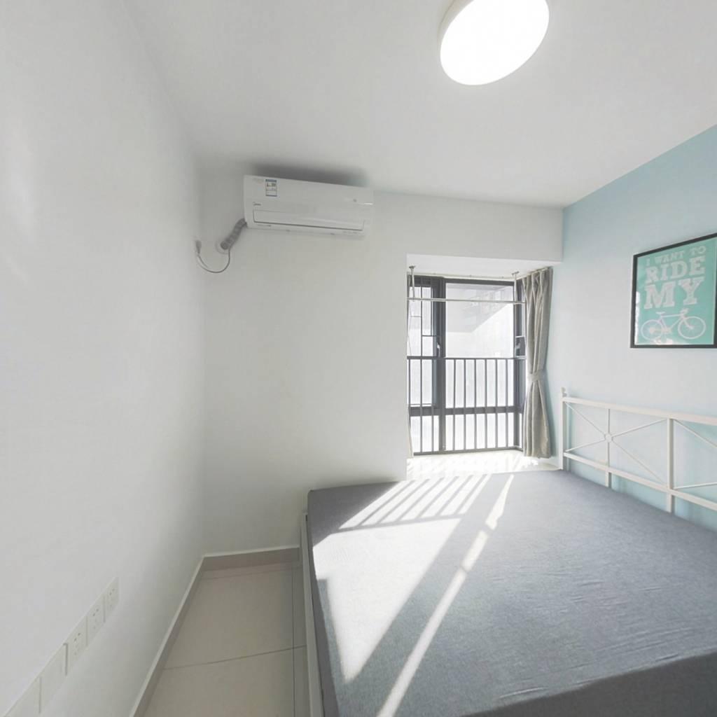 合租·江北西苑 3室1厅 南卧室图