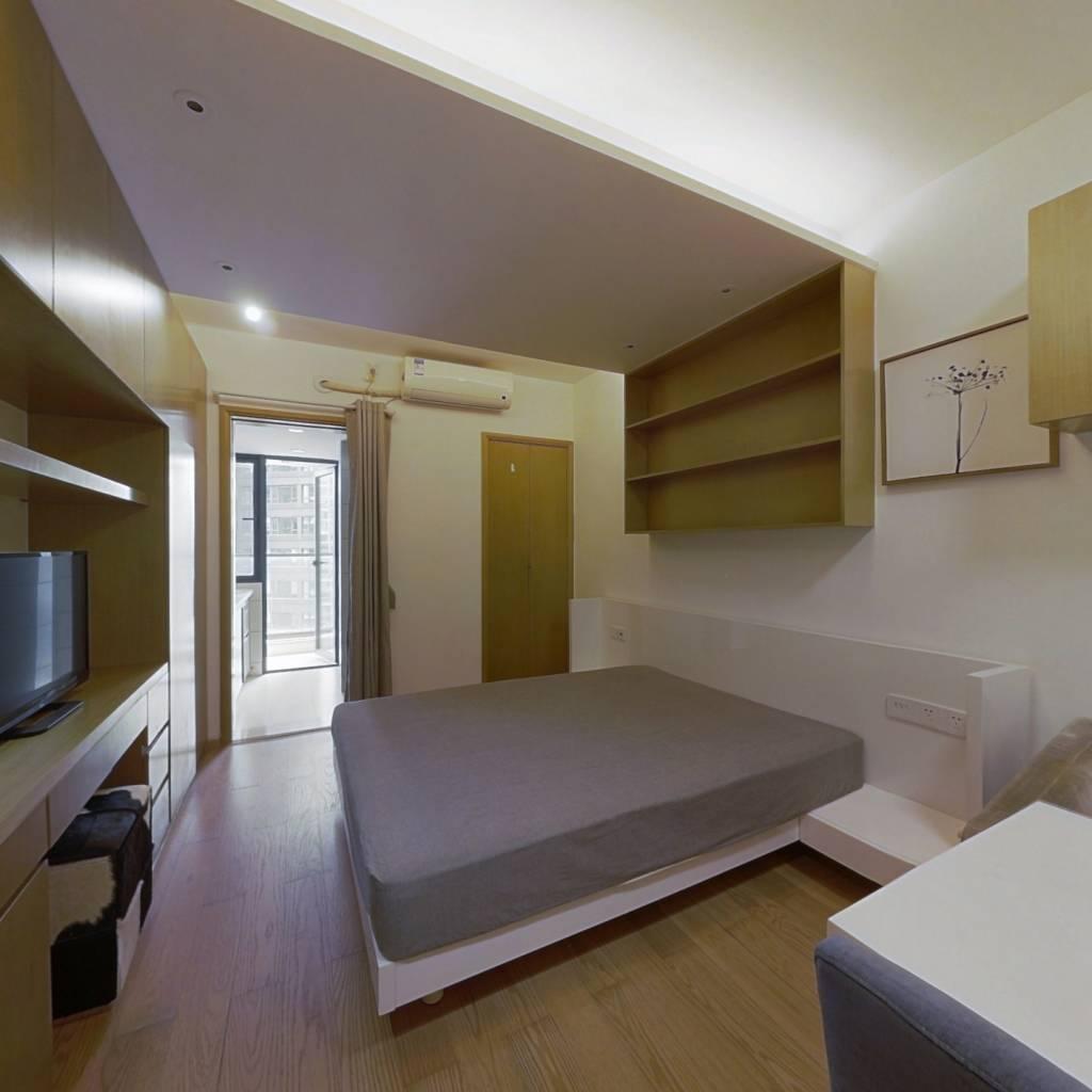 整租·栖游家园 1室1厅 南卧室图