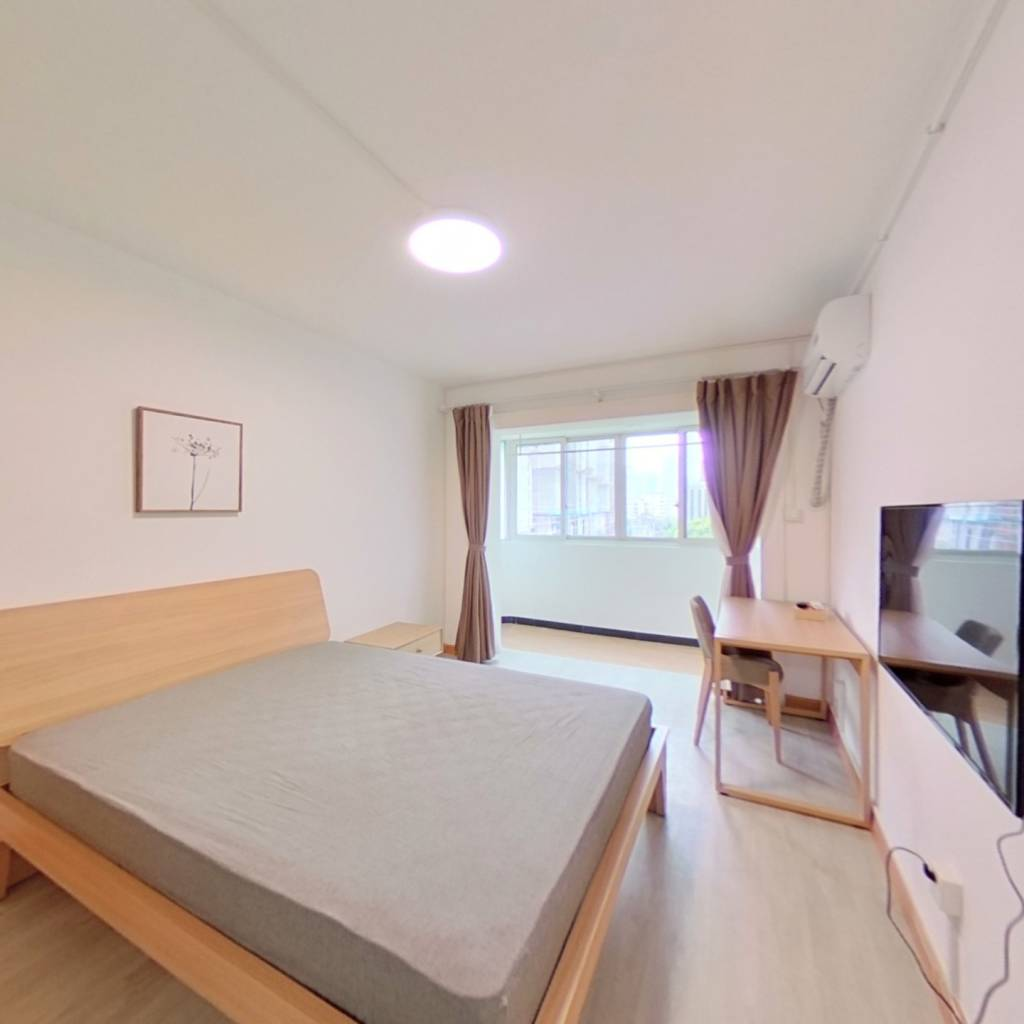 整租·新丰小区 1室1厅 卧室图