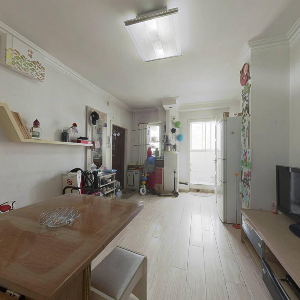 南北通透 正规两室一厅 客厅17平