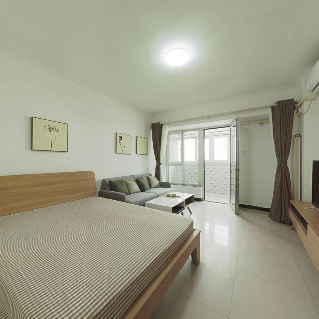 整租·长城国际 1室1厅 西卧室图