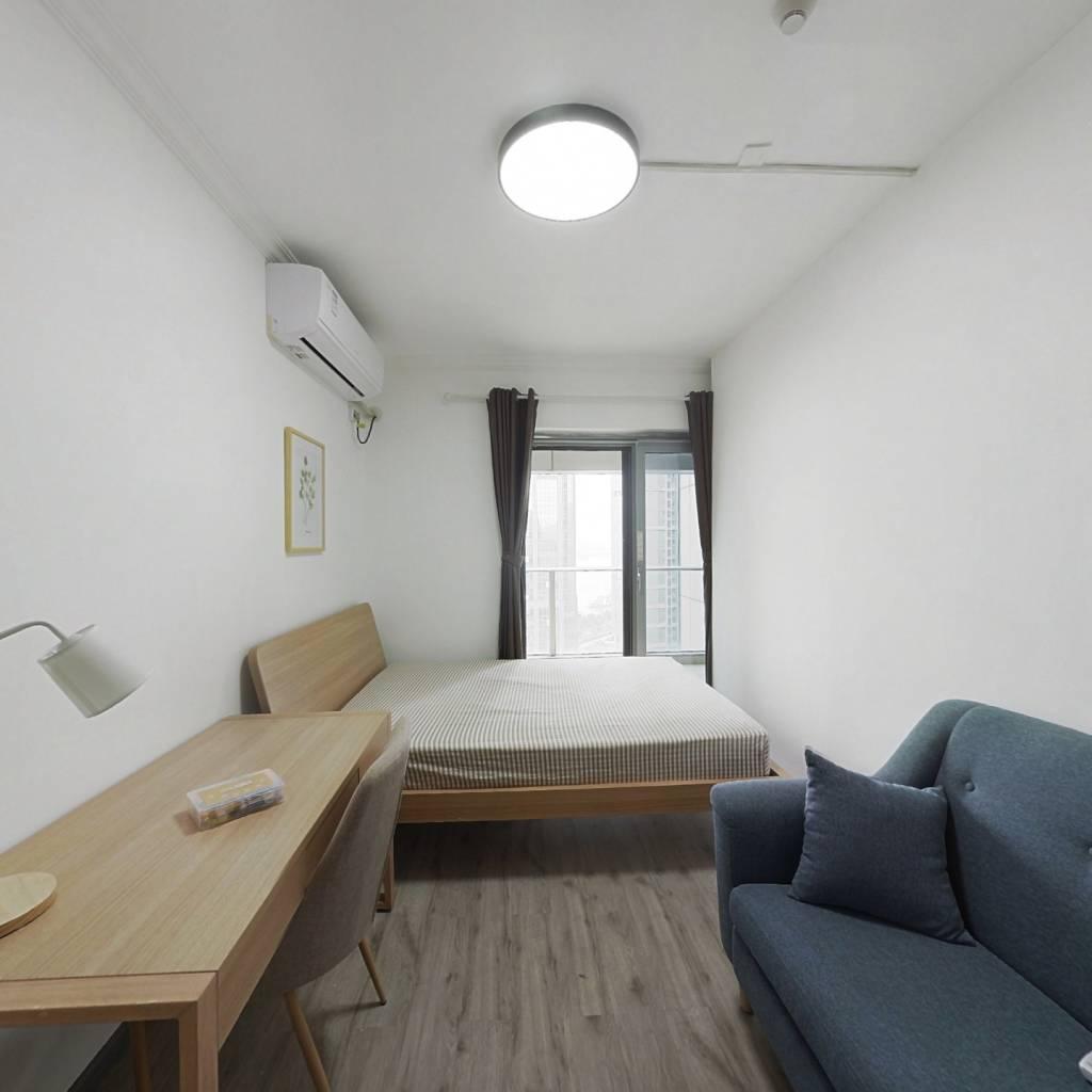 合租·世纪江尚 4室1厅 西卧室图