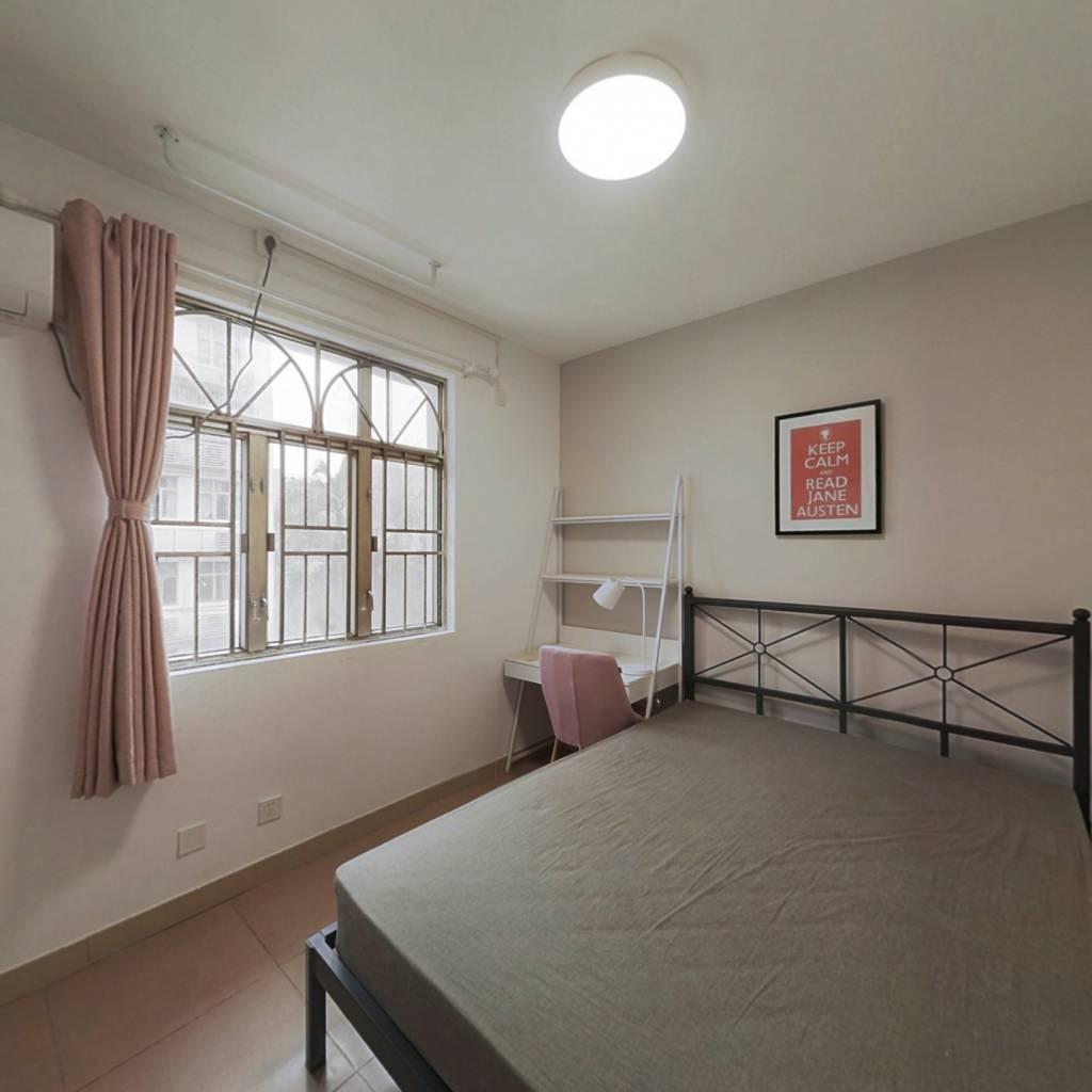 合租·松坪村二期 4室1厅 西卧室图