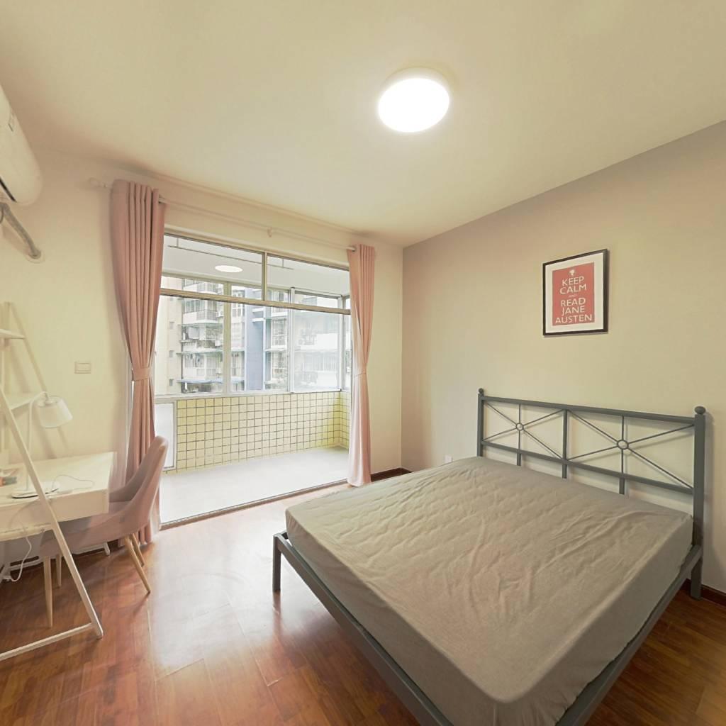 合租·锦洲花园 4室1厅 东卧室图