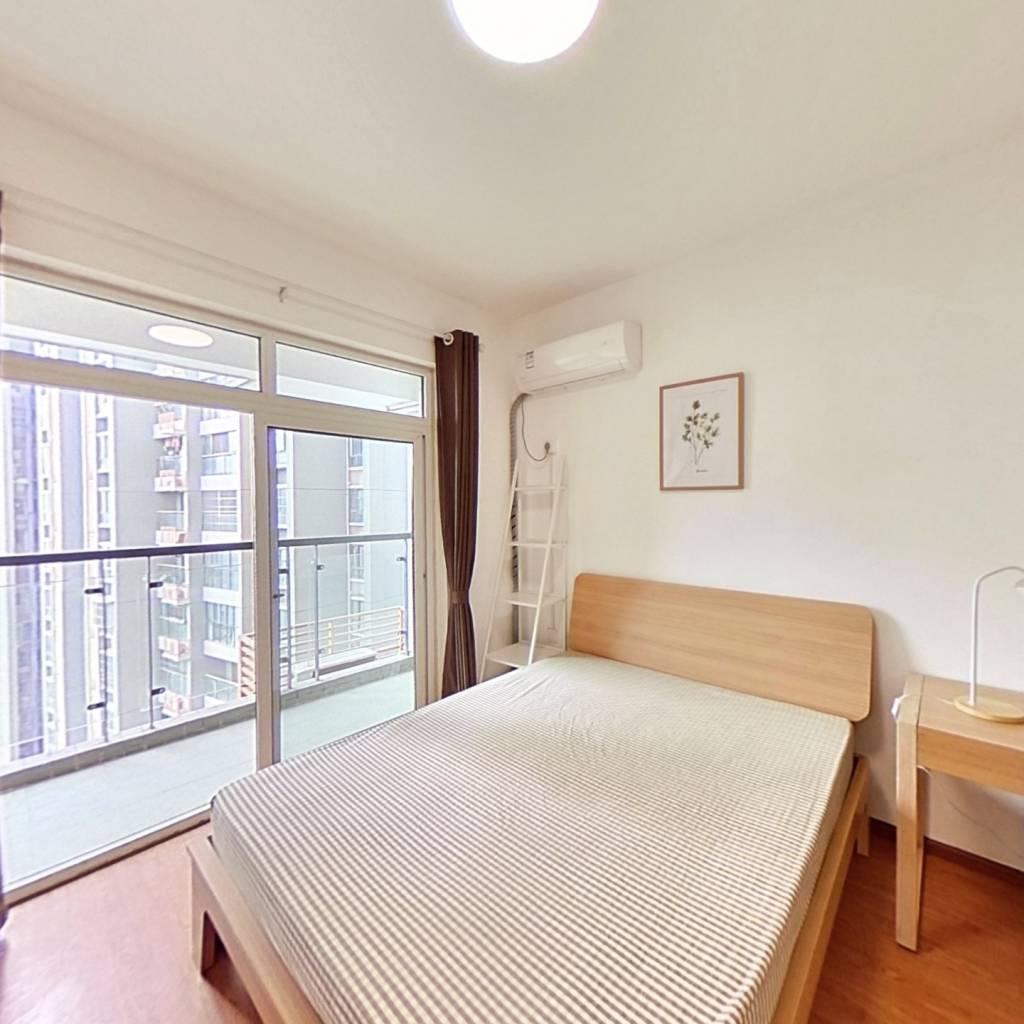 合租·府青惠园 3室1厅 西南卧室图