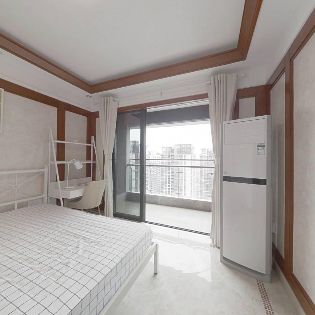合租·中铁鹭岛艺术城 4室1厅 西卧室图