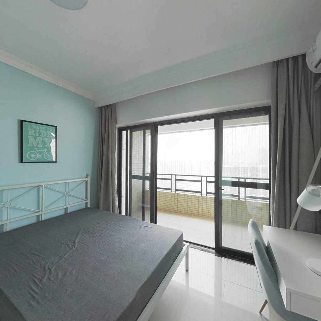 合租·富力东山新天地 4室1厅 北卧室图