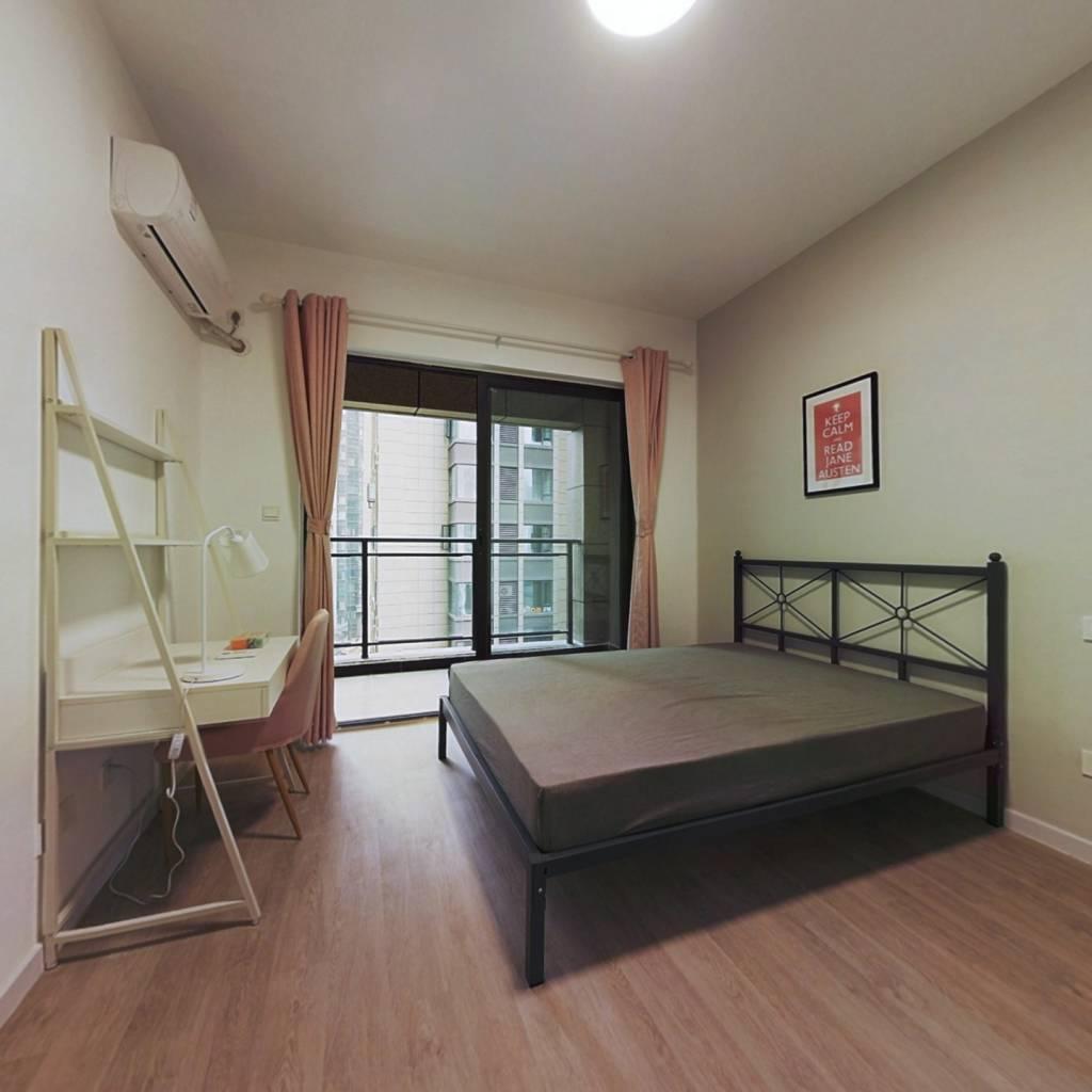 合租·中港CCPARK 4室1厅 东南卧室图