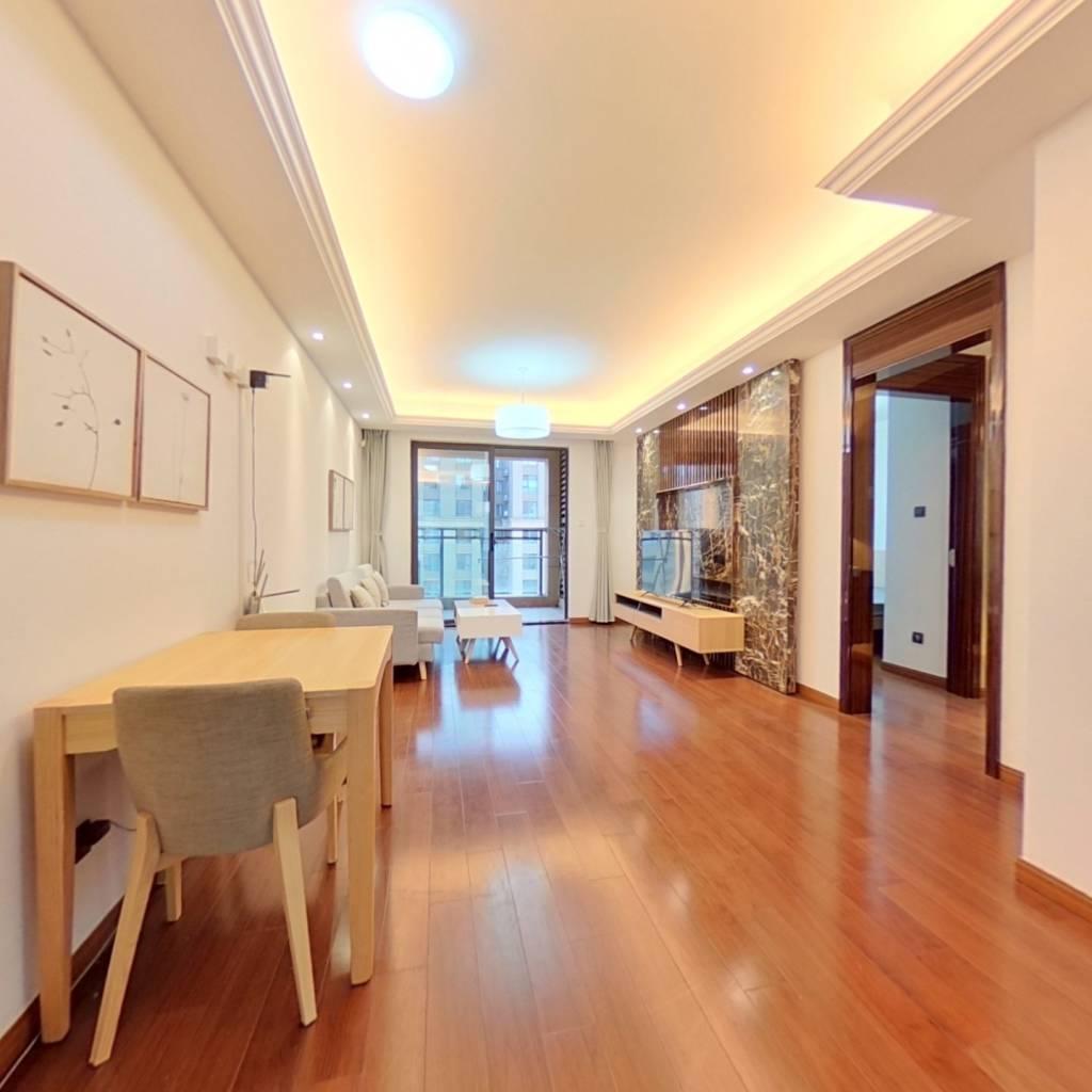 整租·绿地海域笙晖(公寓) 2室1厅 南卧室图