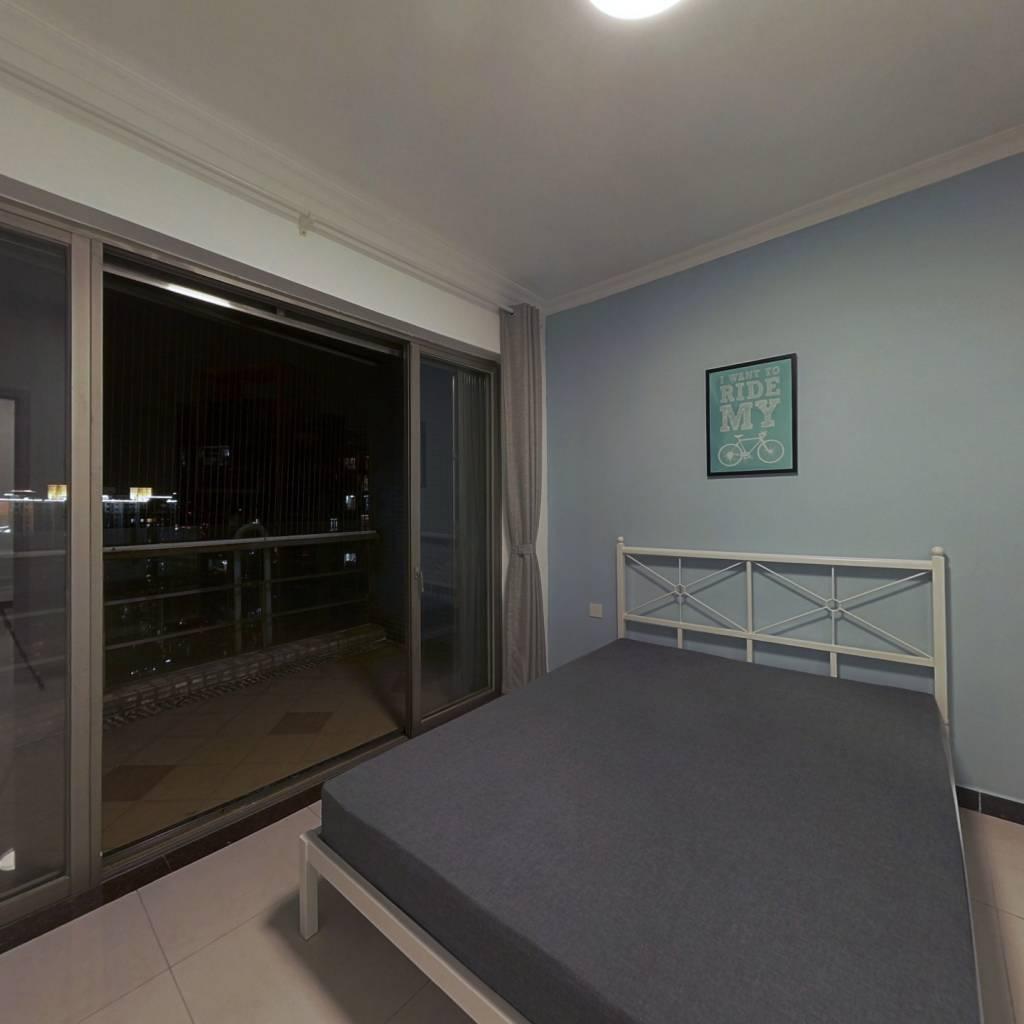 合租·富力现代广场 3室1厅 西卧室图