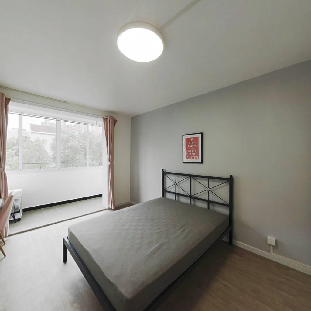 合租·爱建小区 3室1厅 南卧室图