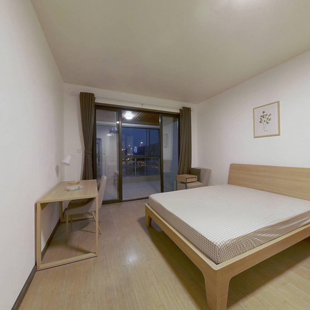 合租·成达佳园 4室1厅 北卧室图