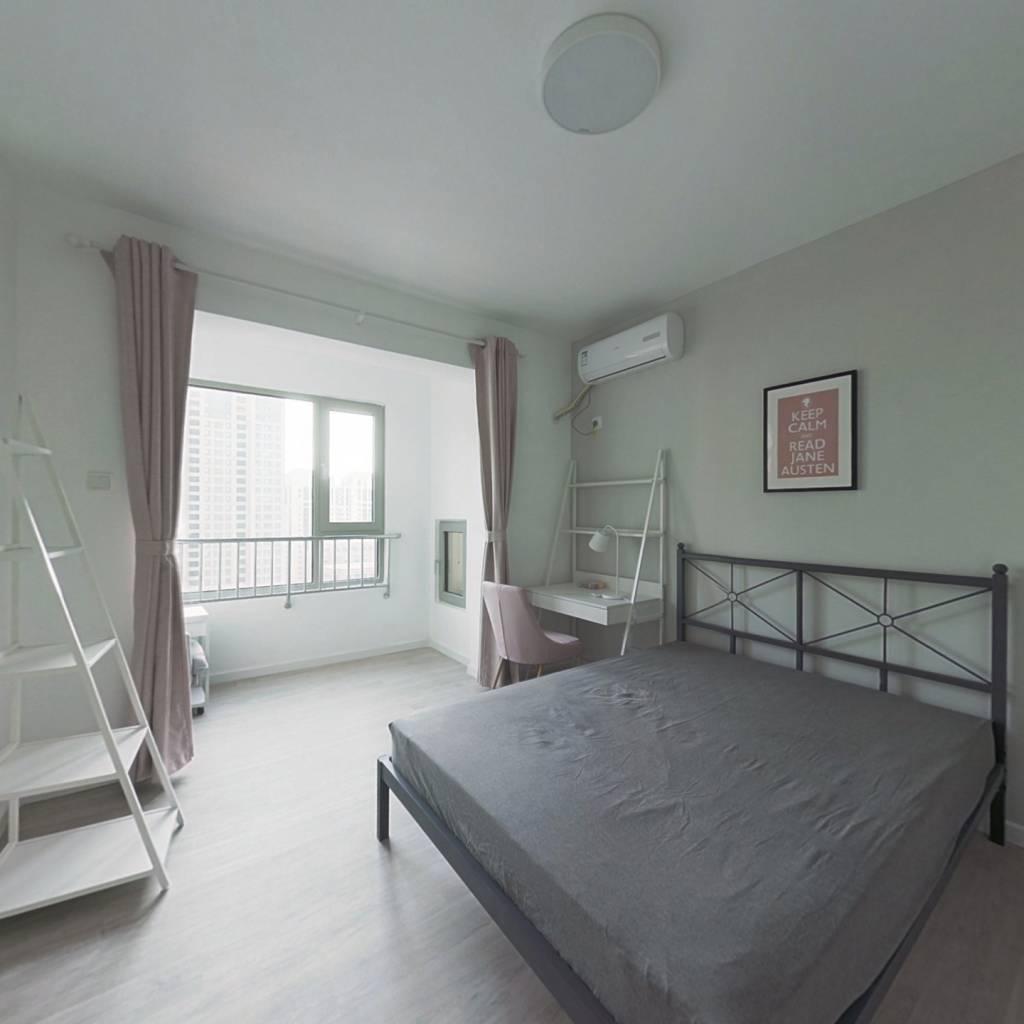 合租·天房六合国际 4室1厅 南卧室图