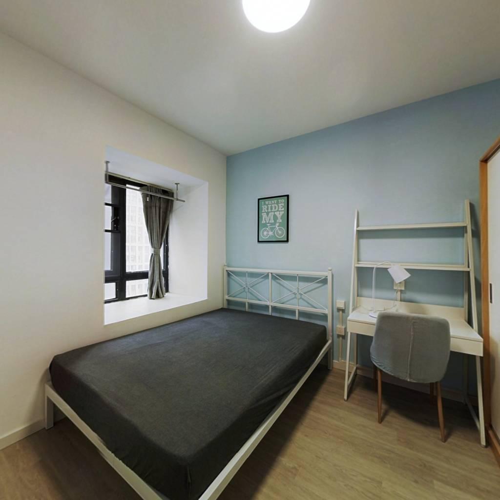 合租·江汉人家 4室1厅 南卧室图