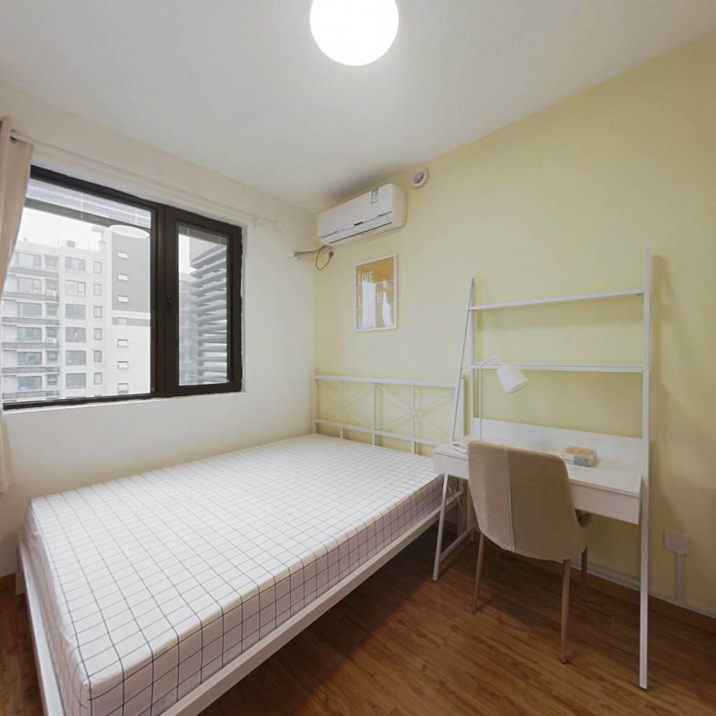 合租·莱蒙水榭阳光 4室1厅 南卧室图