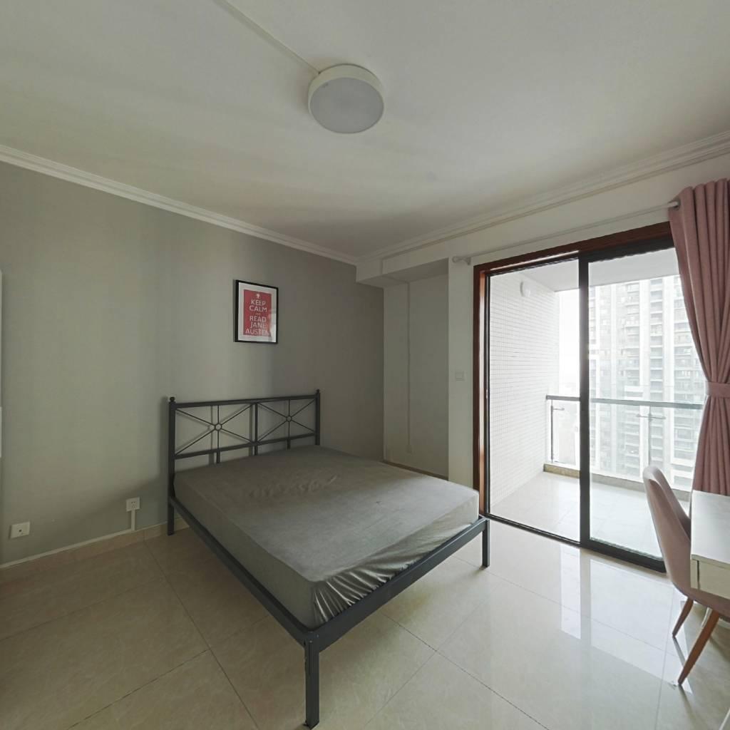 合租·金沙鹭岛一期 4室1厅 北卧室图